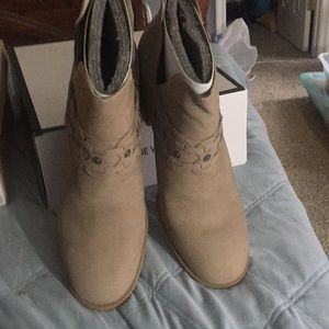 Brand New Nine West Booties- size 12